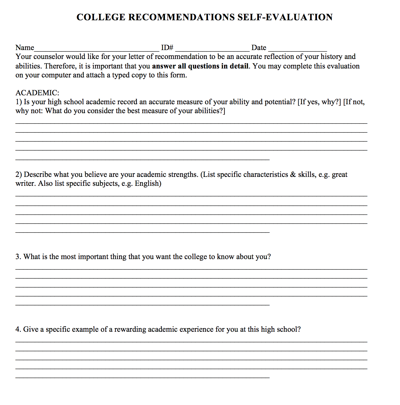 How teachers upload letters of recommendation to naviance college students must provide their activities resume and student parent questionnaire to ask a letter of recommendation from teachers spiritdancerdesigns Image collections