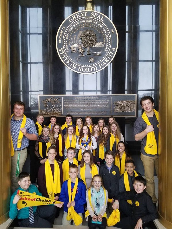 Shiloh Student Council Takes National School Choice Week to the Capitol Thumbnail Image