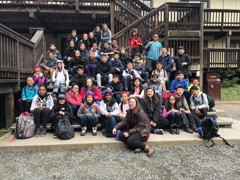 7th grade spends a week at Caritas Creek. Thumbnail Image