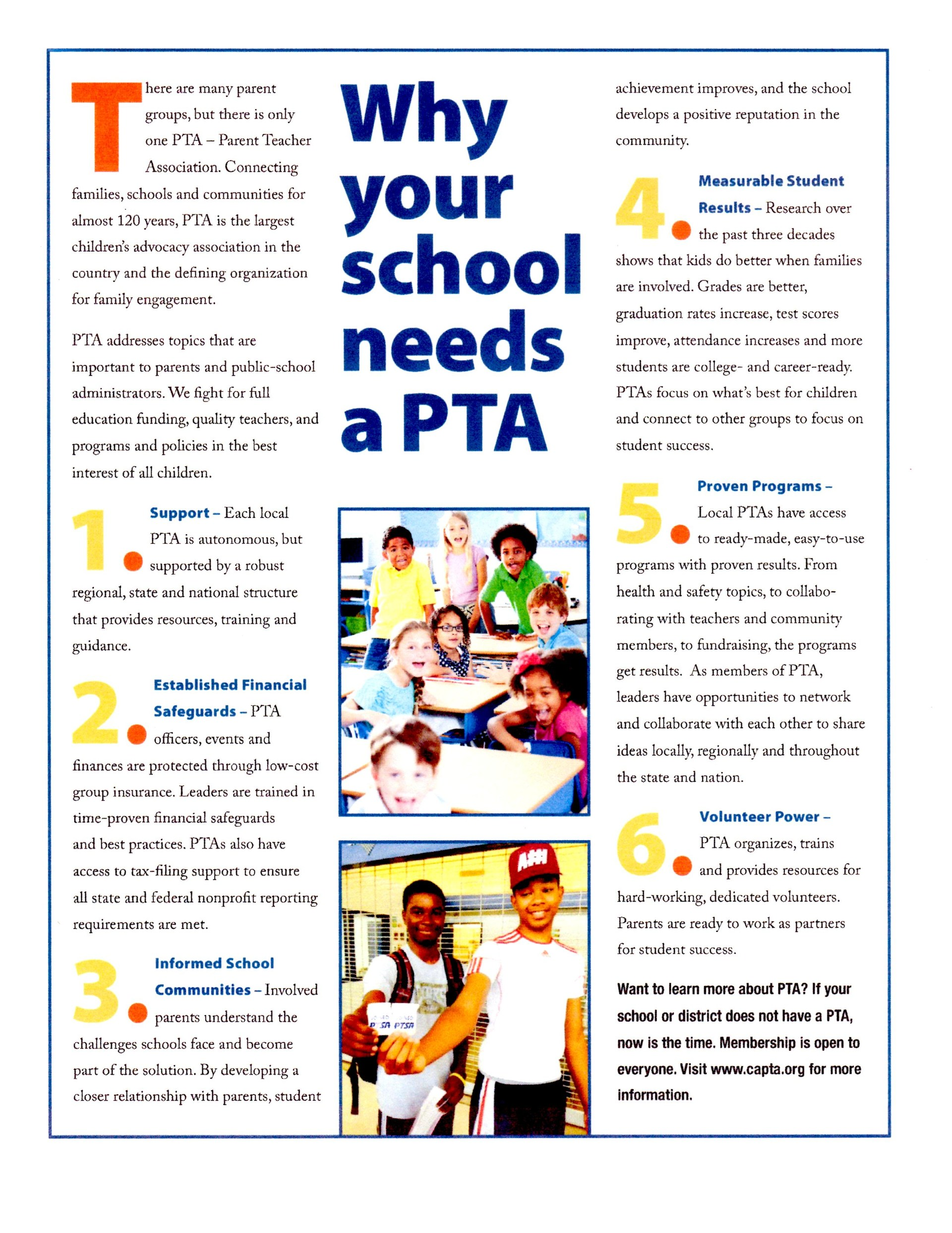 Pta Membership Pta Fulton Middle School