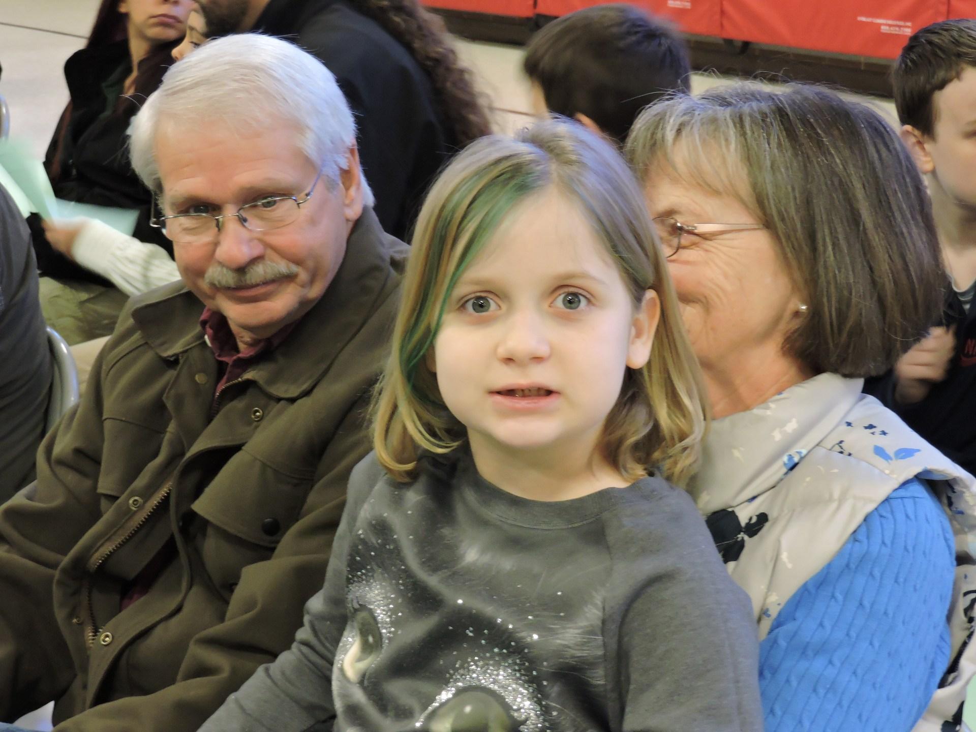 Terrific Kid and Grandparents