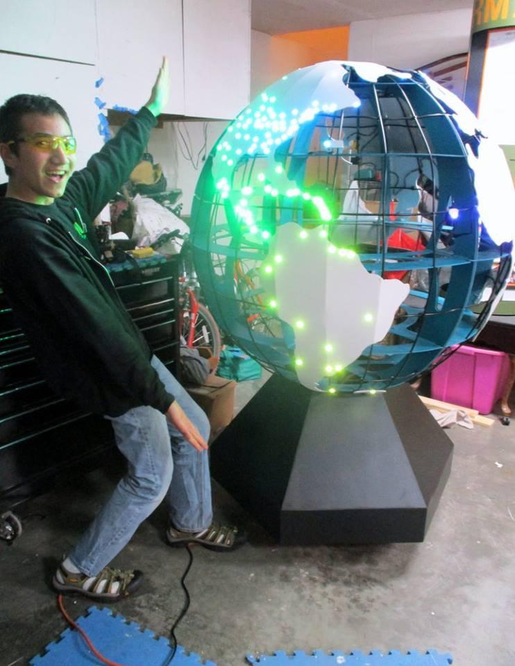 Globe Project (Riley)