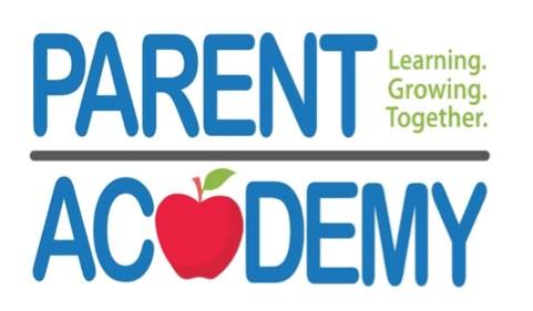 parent academy with an apple