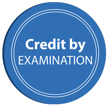 Credit by exam logo