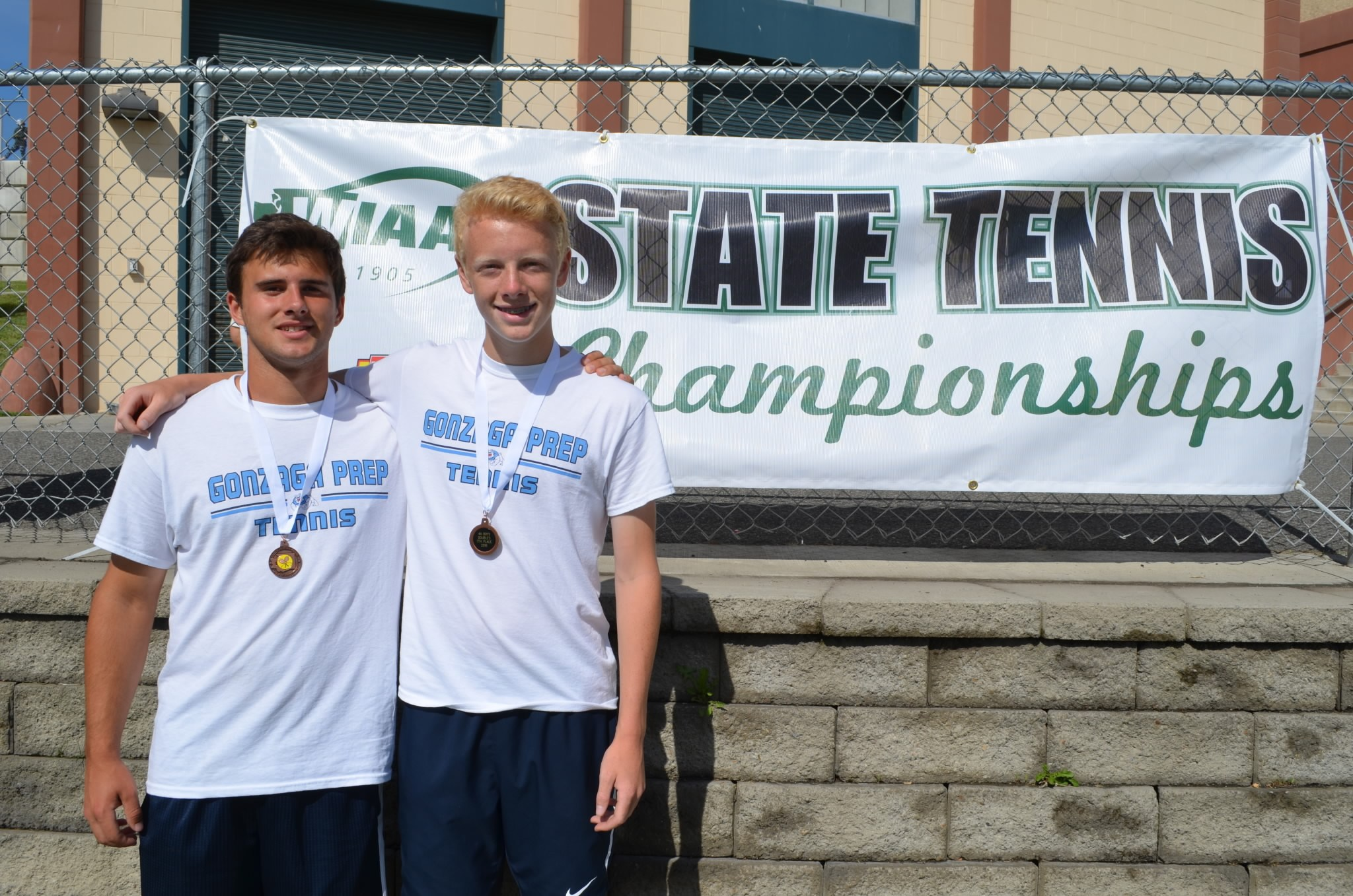 Boys Tennis - State 7th Place