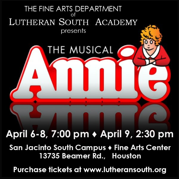 LSA Presents The Musical Annie Thumbnail Image