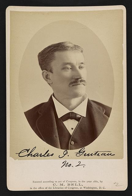Charles Guiteau, assassin