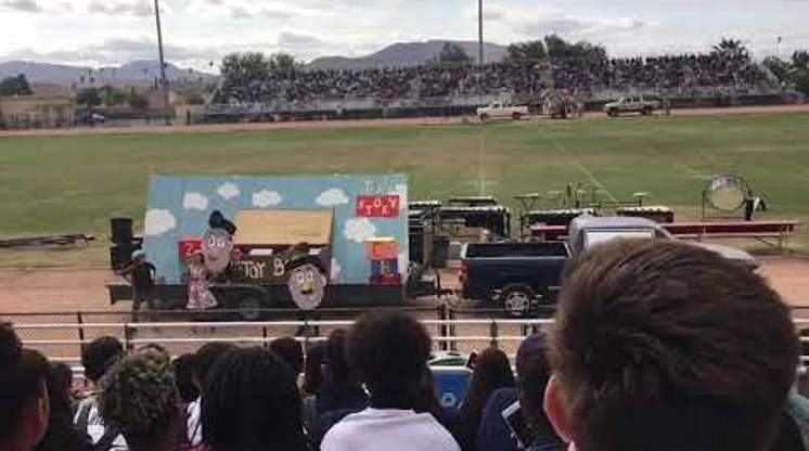 ASIA Club Homecoming Float