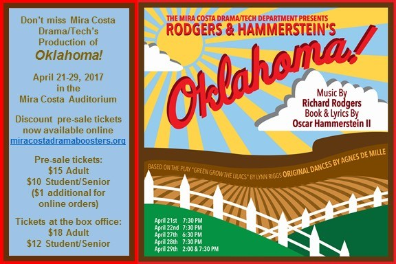 MCHS Drama/Tech Department presents OKLAHOMA! Thumbnail Image