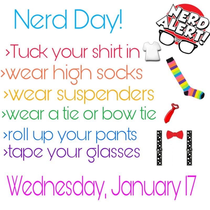 Nerd Day accessories