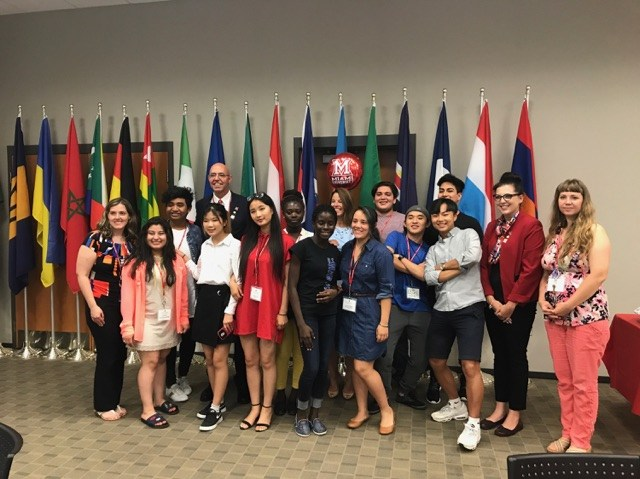 Several Fairfield students participated in an intensive English program at Miami Middletown recently and fared well!