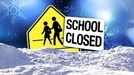 School Closed in Ice