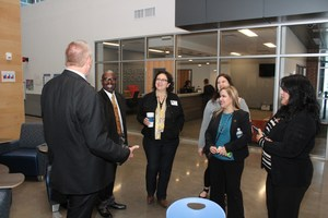 Texas Rep. Celia Israel tours New Tech Middle =