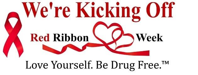 Kicking off Red Ribbon Week