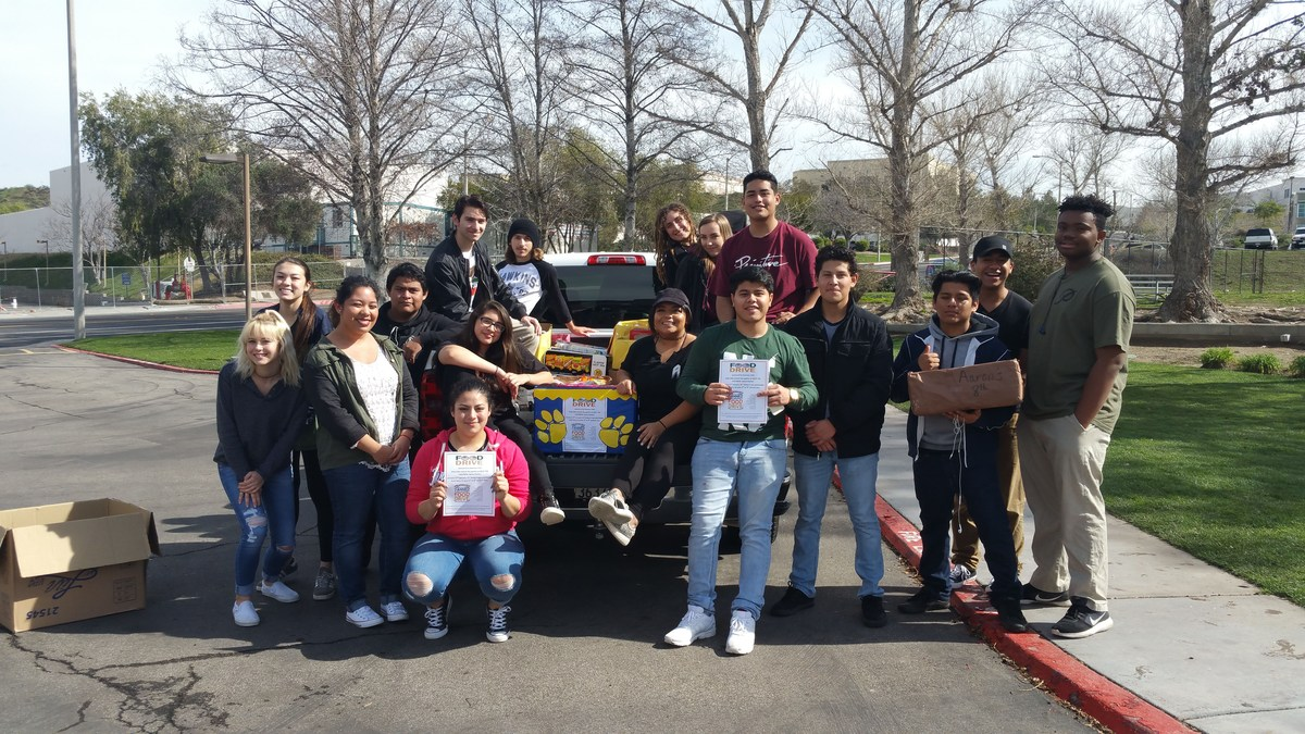 Bowman Food Drive Supports Help the Children