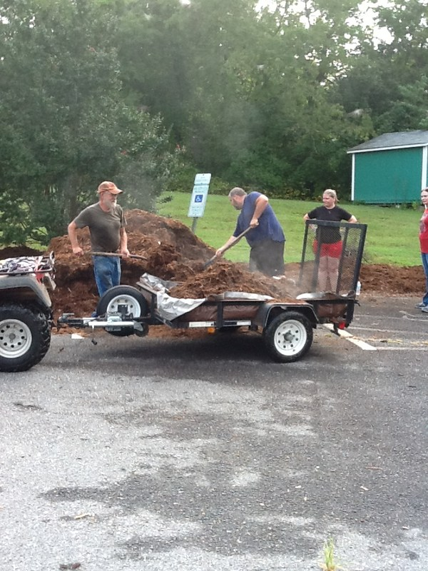 Mulch Day Success! Thumbnail Image