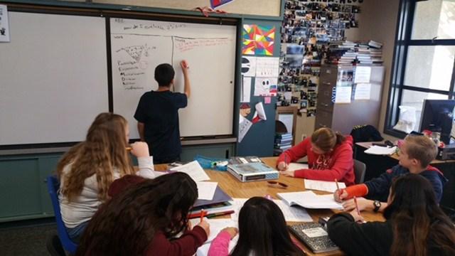 Dartmouth AVID elective student tutorials