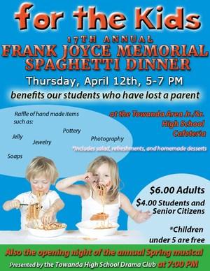 Frank Joyce Memorial Spaghetti Dinner