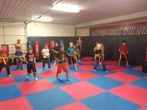 QISD Panther Martial Arts Class