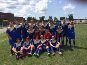 SHS boys varsity soccer team