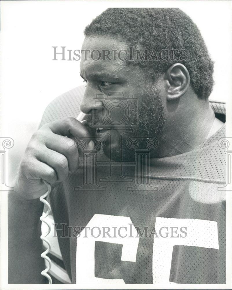 Charlie Johnson of the Philadelphia Eagles