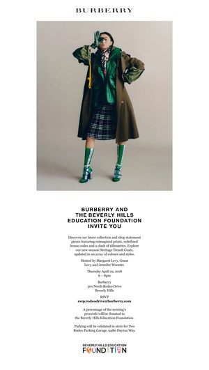 Burberry Flyer