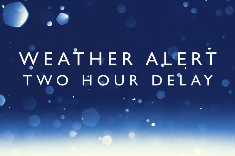 School Delay due to inclement weather Thumbnail Image