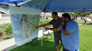 Mapping out the Eclipse's movement