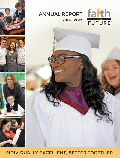 Faith in the Future's 2016-2017 Annual Report Thumbnail Image