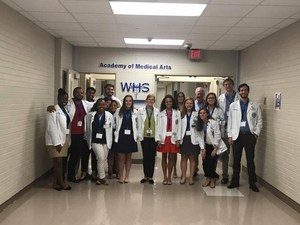 Medical Students Tour Westover