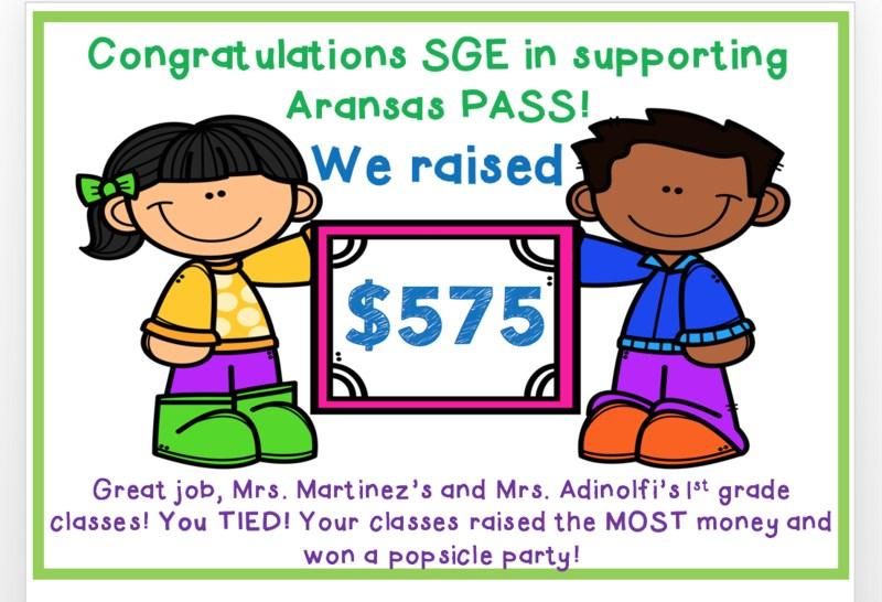 ShadowGlen Raises $575 for Aransas Pass ISD Thumbnail Image