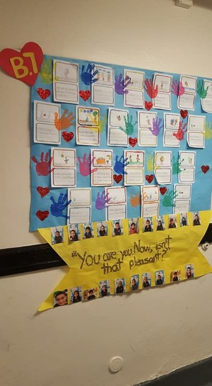 student board of dr. seuss work