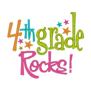 Image result for 4th grade rocks sign