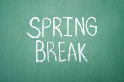 Spring Break March 27th-31st Thumbnail Image