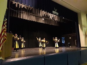 another view of students performing