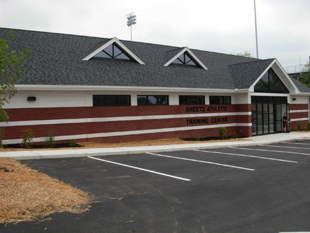 Sheetz Athletic Training Facility - Outside View