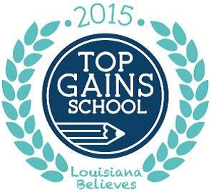 Leonville Elem. Top Gain School