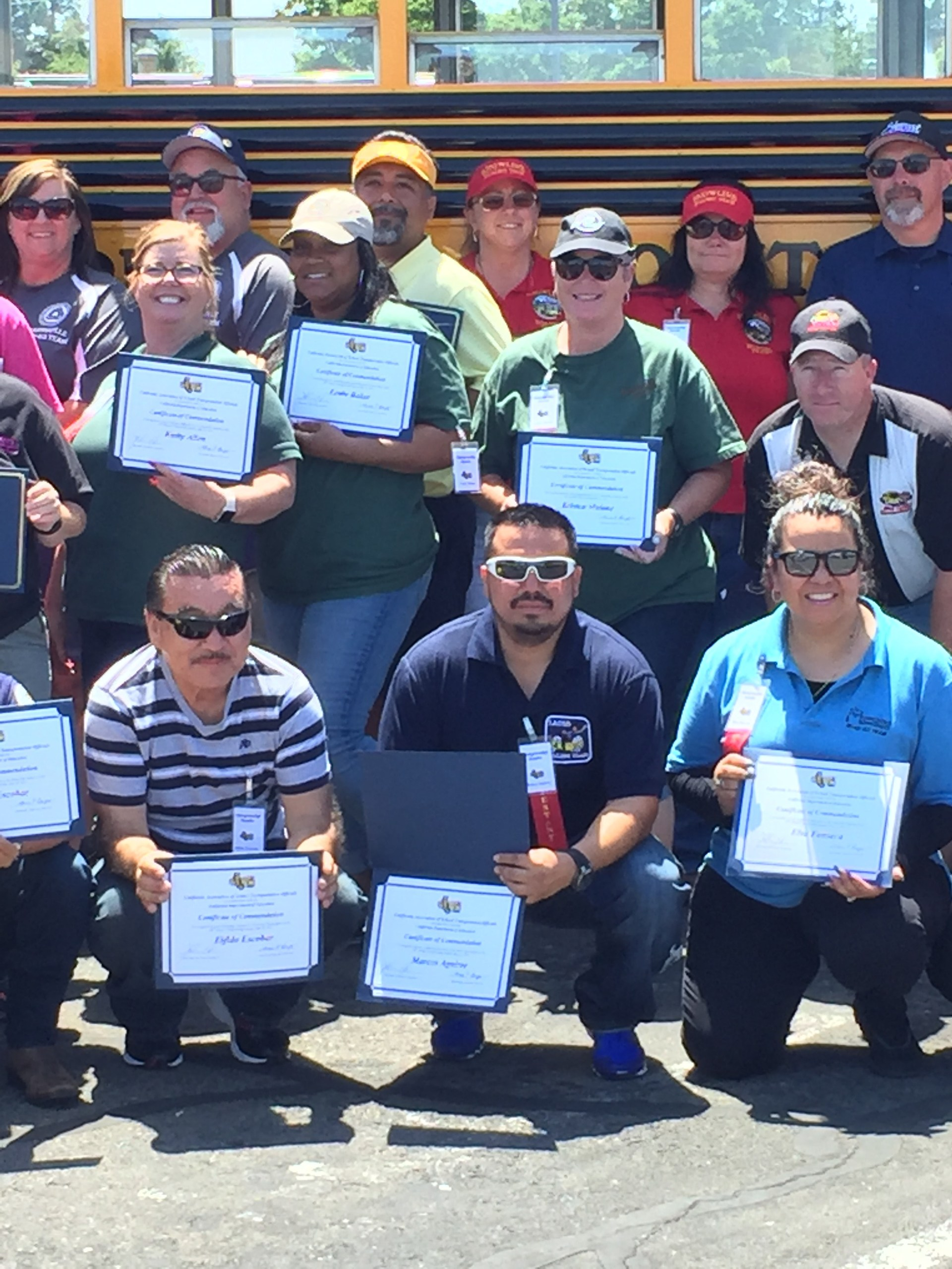 School bus drivers competition: LEUSD state qualifiers