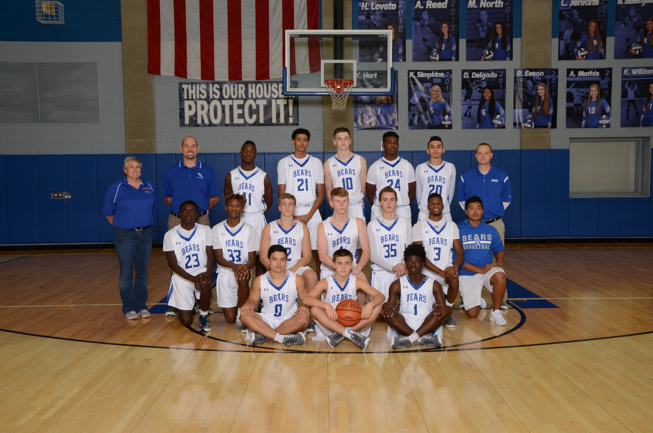 Boys' Varsity Basketball Team