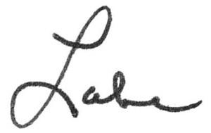 Luke's E-signature