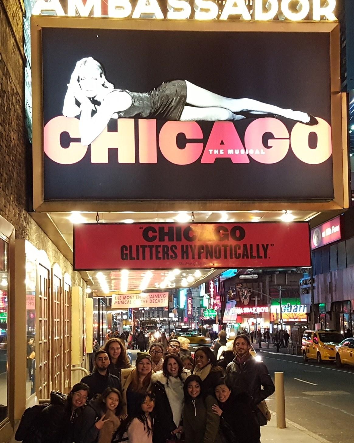 2018 Broadway Show Trip