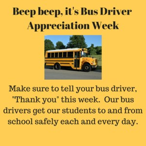 Bus driver app week