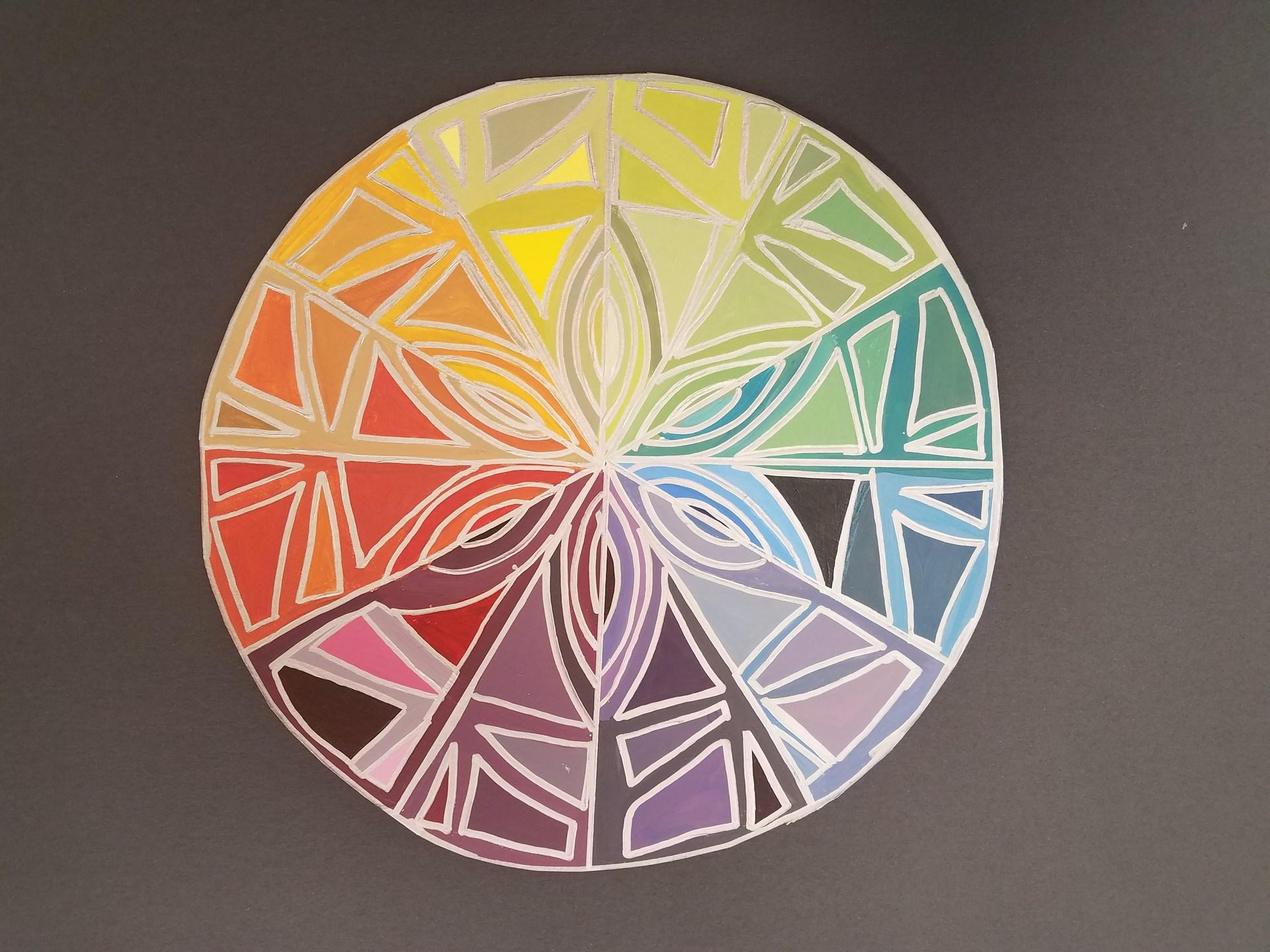 Beginning Art color wheel
