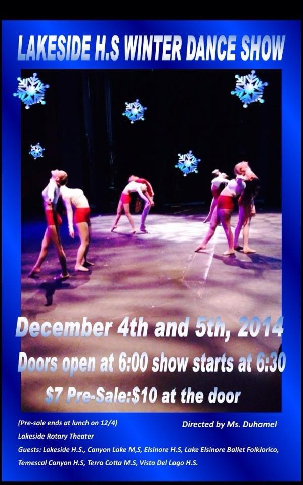 Lancer Dancers Winter 2014
