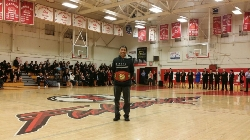 Kevin Tong was awarded Coach of the Year by Congresswoman Loretta Sanchez