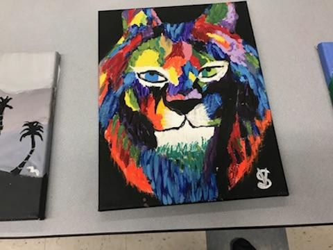 Tiger Art work