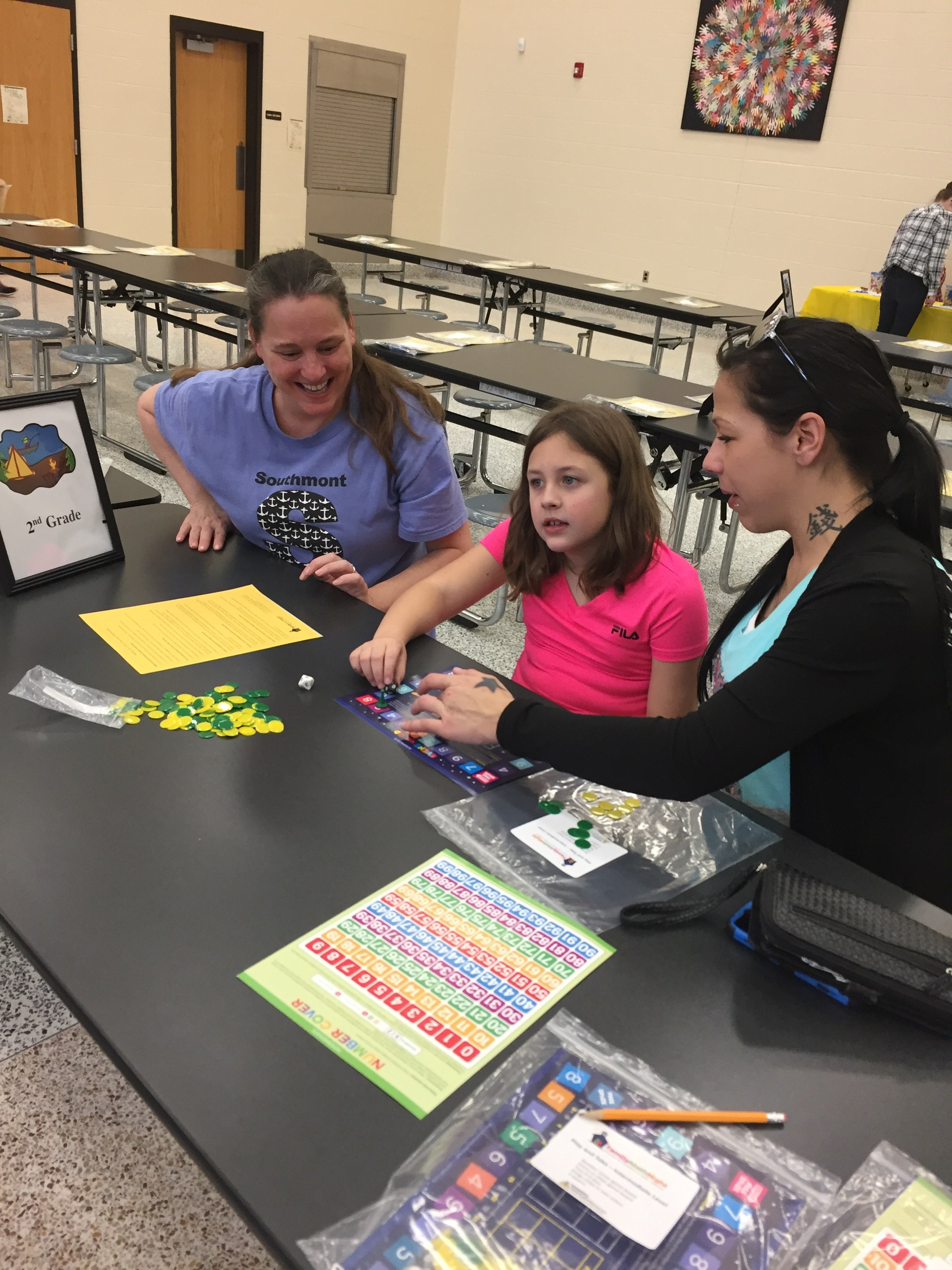 Parent Night math game