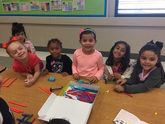 Kids smiling STEM activity