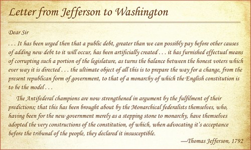 Jefferson to Washington