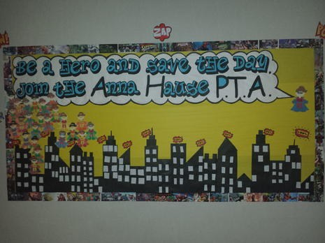 Photo of PTA Bulletin Board